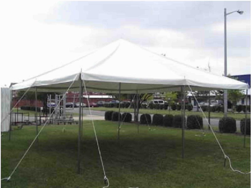 White Party tent, White Tent, Weddings, Parties, BBQ, Barbaques, 20x20 ent