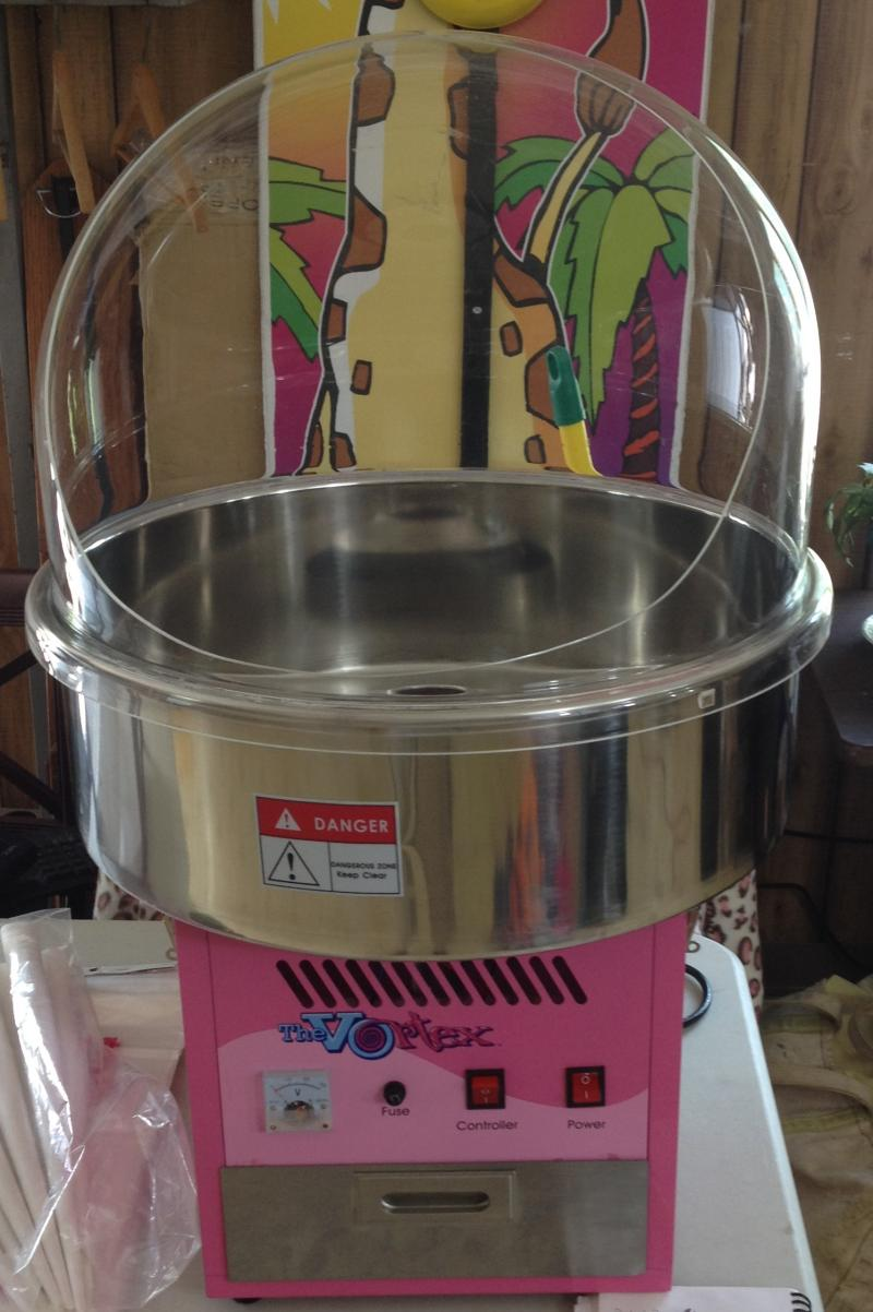 Cotton Candy Machine, Rental, Fundraiser, Party Candy Floss, Cones & Bags