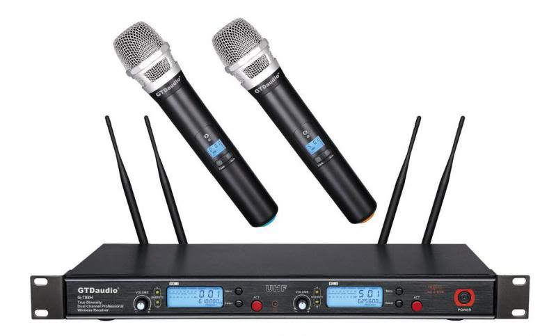 Wireless Microphone System, wireless Mic, Rentals, Multi Channel, Diversity