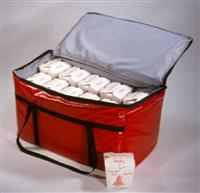 Hot or Cold Insulated Delivery Food Carrier 24x14x14, Chafing Pans