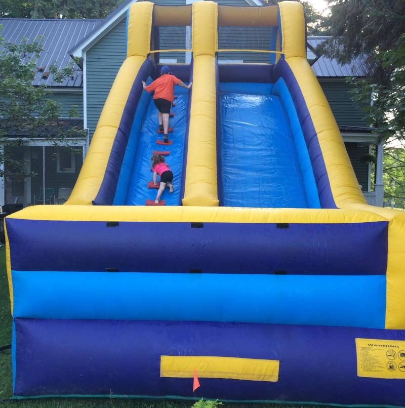 18' High Inflatable Slide