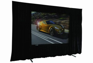Projection Screen, Drape Kit, Dress Kit, 10' x 10' Front or rear projection